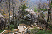 Hickory Nut Falls Trail, Chimney Rock, NC